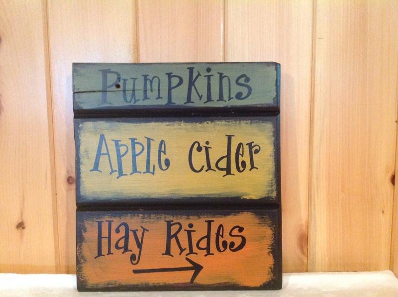 Pumpkins, Apple Cider, Hay Rides